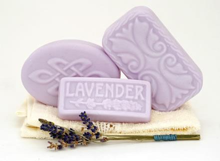 Goat's Milk Lavender Soap - Guest Size