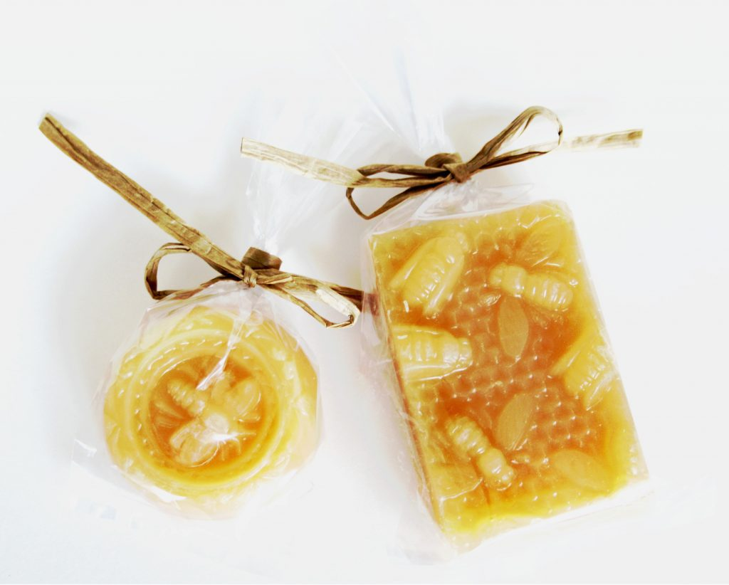 Honey BeesWax Guest Soap